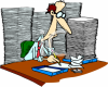 0511-0810-3119-1743_Cartoon_of_an_Office_Worker_with_Too_Much_Paperwork_clipart_image.png